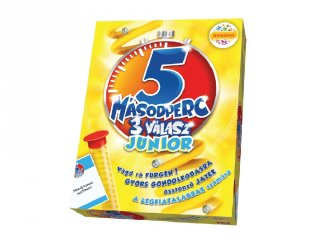 Megableu 5 másodperc 3 válasz junior, reflex kvízjáték (6-10 év)