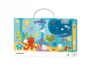 Megfigyelő puzzle Víz alatti világ, 80 db-os kirakó (DO, 5-7 év)
