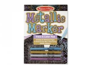 Melissa&Doug fémes színező, kreatív készlet (9320)