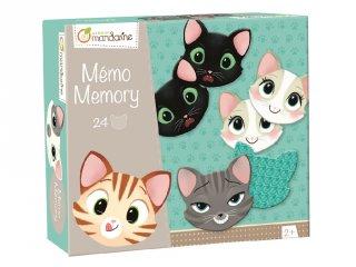 Memó, Cicák arckifejezései (AM, memória játék, 2-5 év)