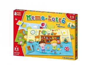 Memo-Lottó (Keller & Mayer, memória társasjáték óvodásoknak, 3-6 év)