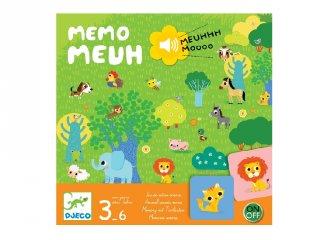 Memo Meuh, Djeco memória társasjáték (8482,3-6 év)