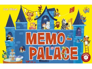 Memo palace (PI, kooperatív szókincsfejlesztő memória társasjáték, 5-12 év)