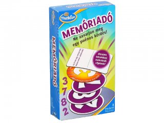 Memóriadó (Thinkfun, 31892, memóriakártya némi csavarral, 8-99 év)