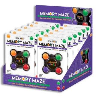 Memory Maze, hanggal és villanó fényekkel (egyszemélyes memóriajáték hanggal és színekkel, 6-99 év)
