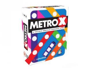 Metro X, taktika társasjáték letörölhető táblával és filccel(7-99 év)