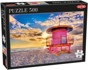Miami, 500 db-os puzzle (Tactic, 53559, puzzle 500 db, 6-99 év)