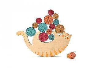 Miaú! egyensúlyozó társasjáték (3-8 év)