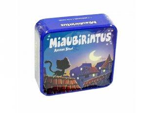 Miaubirintus (szórakoztató logikai játék, 6-14 év)