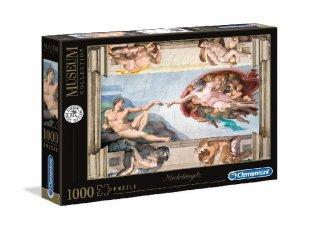 Michelangelo: Ádám teremtése puzzle, 1000 db-os kirakó (CLEM, 9-99 év)
