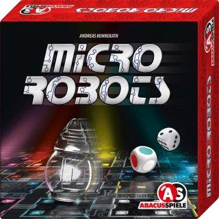 Micro Robots, Száguldó robotok (Abacus, gyorsasági útvonalkereső, logikai társasjáték, 8-99 év)
