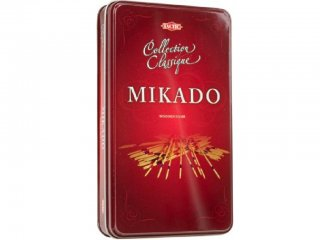 Mikado, fém dobozban (Tactic, 14010, marokkó játék, 6-12)