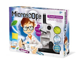 Mikroszkóp (Buki, tudományos játék, 8-14 év)