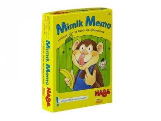 Mimika memo (Haba, logopédiai kártyajáték, 3-8 év)