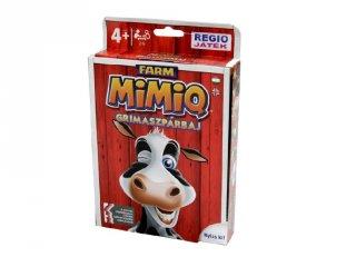 MimiQ Farm, a grimaszpárbaj (vicces partijáték, kártyajáték 4-99 év)