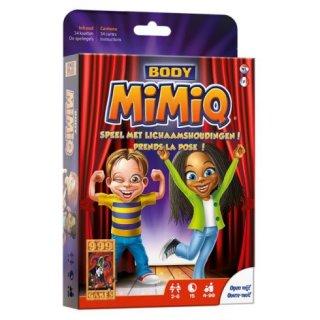 MimiQ pózpárbaj (vicces partijáték, kártyajáték 4-99 év)