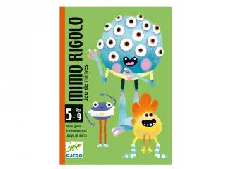 Mimo Rigolo, Grimaszoló Djeco kártyajáték (5138, 5-9 év)