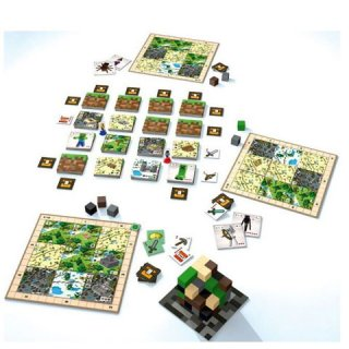 Minecraft Builders & Biomes, stratégiai társasjáték (10-99 év)