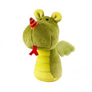 Mini csörgő, Walter sárkány (Lilliputiens, plüss bébijáték, 0-2 év)