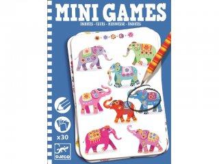Mini Games, Keresd meg hol van (Djeco, 5318, azonosság kereső úti játék, 4-10 év)