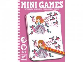 Mini Games, Mi a különbség? (Djeco, 5307, kitalálós utazó játék lányoknak, 6-10 év)