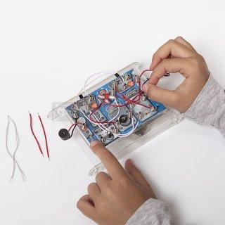 Mini Lab elektromos kísérletező készlet, tudományos játék (8-12 év)