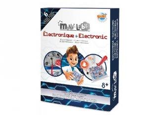 Mini laboratórium, elektronika, tudományos kísérletező játék (Buki, 8-14 év)