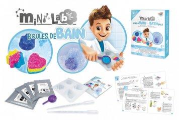 Mini laboratórium, fürdőgolyó készítés, tudományos kísérletező játék (Buki, 8-14 év)