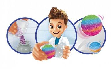 Mini laboratórium, pattogó labda készítés, tudományos kísérletező játék (Buki, 8-14 év)