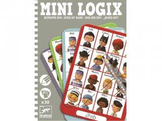 Mini Logix, Ki vagyok én (Djeco, 5356, kitalálós utazójáték fiúknak, 6-10 év)