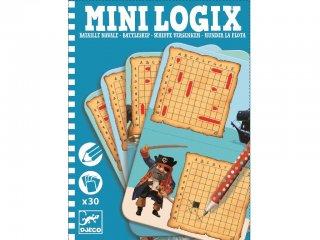 Mini Logix, Torpedó (Djeco, 5355, kitalálós utazójáték, 6-12 év)