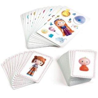 Mini Méli-Mélo Tynily, Djeco gyorsasági, megfigyelős kártyajáték - 6971 (4-9 év)