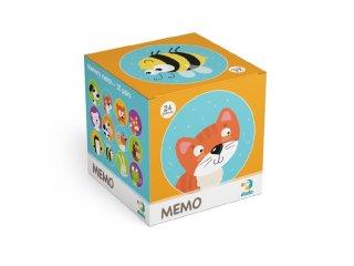 Mini memória Állatok, 24 db-os memóriajáték (DO, 2-6 év)