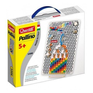Mini Pallino (Quercetti, 1006, logikai képalkotó játék, 6-10 év)