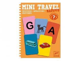 Mini Travel, Katuvu Djeco betű-kép utazójáték (5371, 4-8 év)