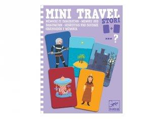 Mini Travel, Stori Djeco történetszövős memória utazójáték (5372, 4-8 év)