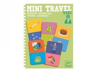 Mini Travel, Teki Djeco kérdezz-felelek utazójáték (5373, 4-8 év)