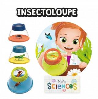 Mini tudomány, bogárnézegető 5x-ös nagyítás, tudományos felfedező játék (Buki, 3-8 év)