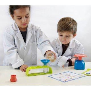 Mini tudomány Kémiai készlet 10 kísérlettel, Buki tudományos kísérletező játék (4-7 év)