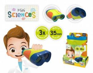 Mini tudomány, távcső, tudományos felfedező játék (Buki, 4-8 év)