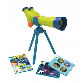 Mini tudomány, teleszkóp, Buki tudományos felfedező játék (4-7 év)