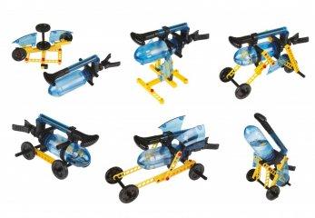 Mini vízi járművek 6 modell, Buki kísérletező tudományos készlet (8-99 év)