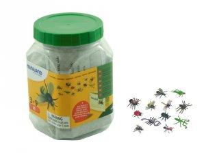 Miniland műanyag rovarkészlet, szerepjáték (27480, 12 db-os)