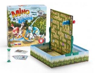 Mino & Tauri, Jussunk ki együtt a labirintusból (PI, kétszemélyes kooperatív társasjáték, 6-12 év)