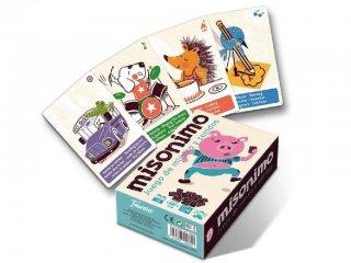 MISONIMO fejlesztő kártyajáték (Fournier, 1028152, kártyajáték, 4-10 év)
