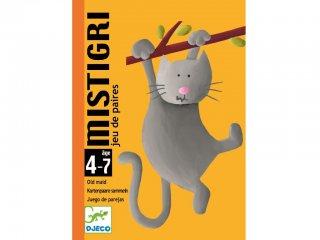 Mistigri, cicás Fekete Péter (Djeco, 5105, párkereső kártyajáték, 4-7 év)