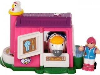 Misty, a ló és Molly, a lovas (Wow toys, lovas játék, 1-5 év)