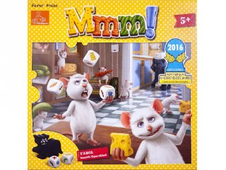 Mmm! (2017. év legjobb gyerek társasjátéka díjas kooperatív társasjáték, 5-10 év)