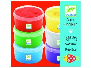 064cdc699c Modellgyurma 6 színben (Djeco, 8864, kreatív készlet, 3-10 év)