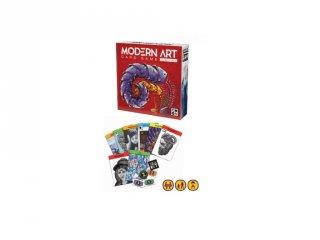 Modern Art, stratégia és kockázatközpontú kártyajáték (8-99 év)